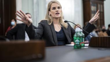 Frances Haugen, fost manager la Facebook, vorbește în Congresul SUA