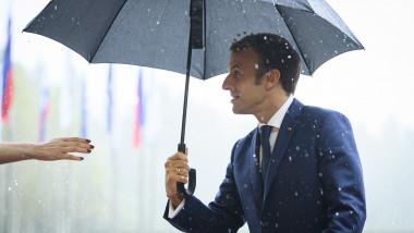 Preşedintele francez Emmanuel Macron a participat la summitul informal de la Brdo, declarând că UE trebuie să facă mai mult pentru a gestiona crizele de la frontierele sale.