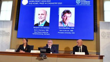 Premiul Nobel pentru chimie a fost câștigat de Benjamin List şi David W.C. MacMillan.