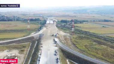 Probleme pe lotul 2 al Autostrăzii Sebeș-Turda.