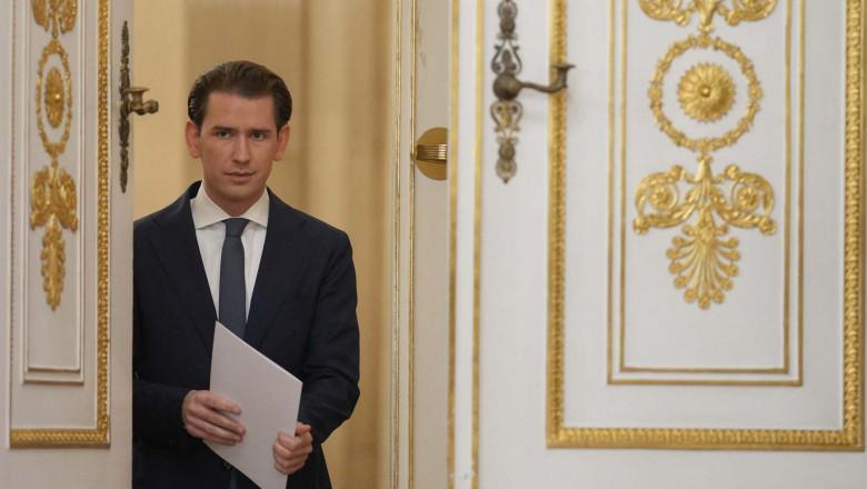 Cancelarul Austriei demisionează. Sebastian Kurz, anchetat pentru fapte de corupție