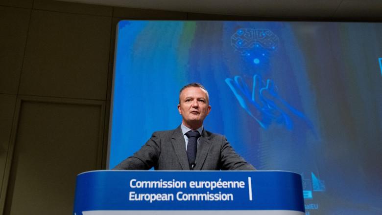 Eric Mamer, purtător-şef de cuvânt al Comisiei Europene
