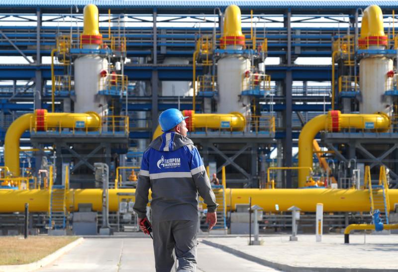 Slavyanskaya compressor station of Nord Stream 2 gas pipeline