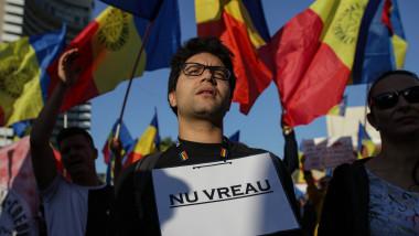 Proteste anti-restrictii în bucurești