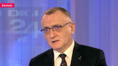 Sorin Cîmpeanu, ministrul demis al Educației. in studioul digi24
