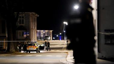 atacul din orașul Kongsberg.
