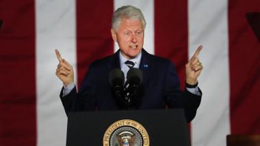 bill clinton la o conferinta