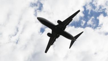 Avion în zbor.
