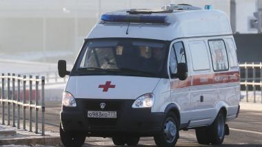 Ambulanță din Rusia.