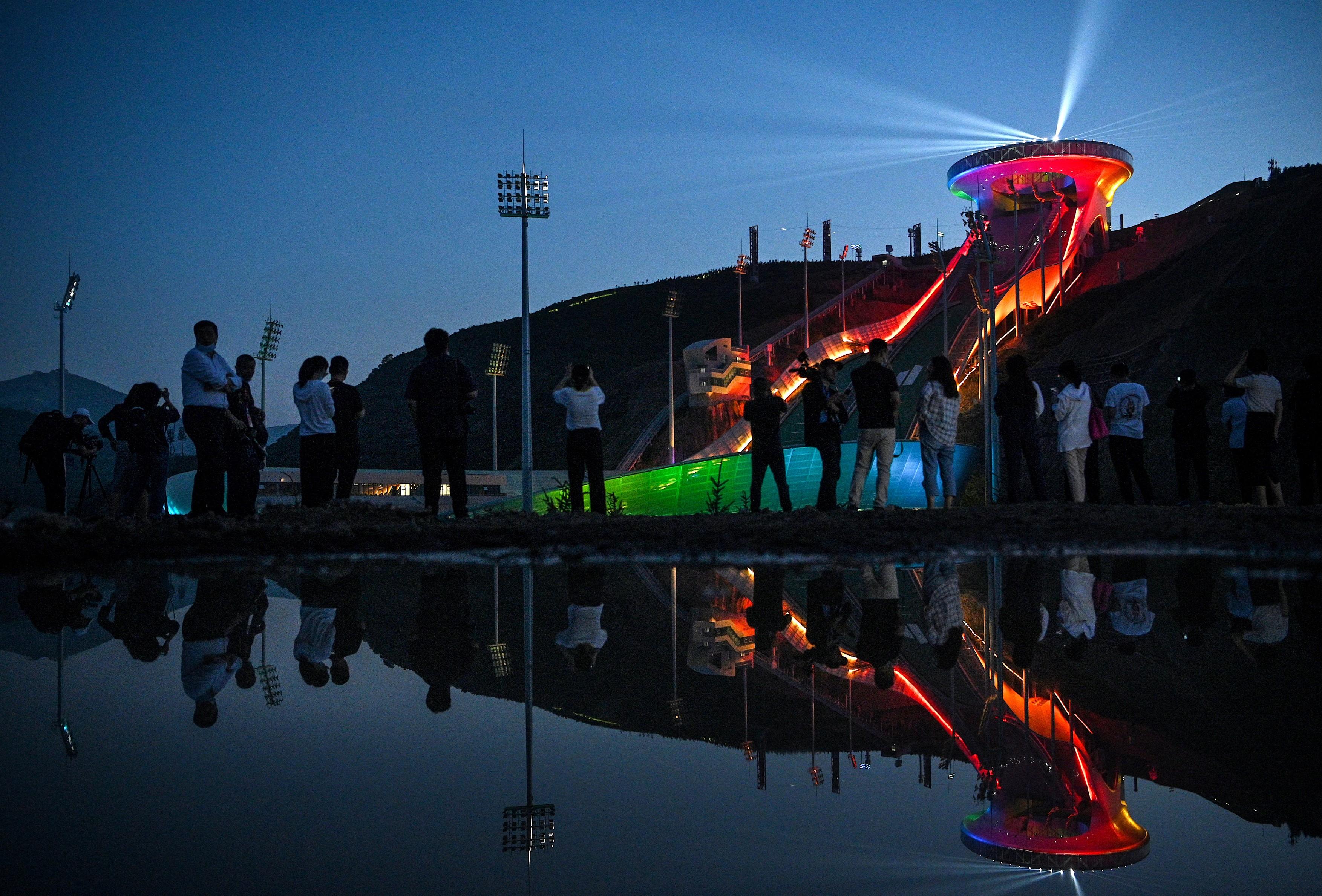 Flacara olimpica pentru Jocurile de Iarna de la Beijing va fi aprinsa luni fara spectatori