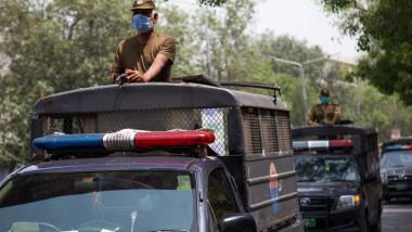 patrula a poliției pakistaneze