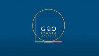 Logoul summitului G20 din Italia.