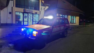 Mașină de intervenție Salvamont Neamț