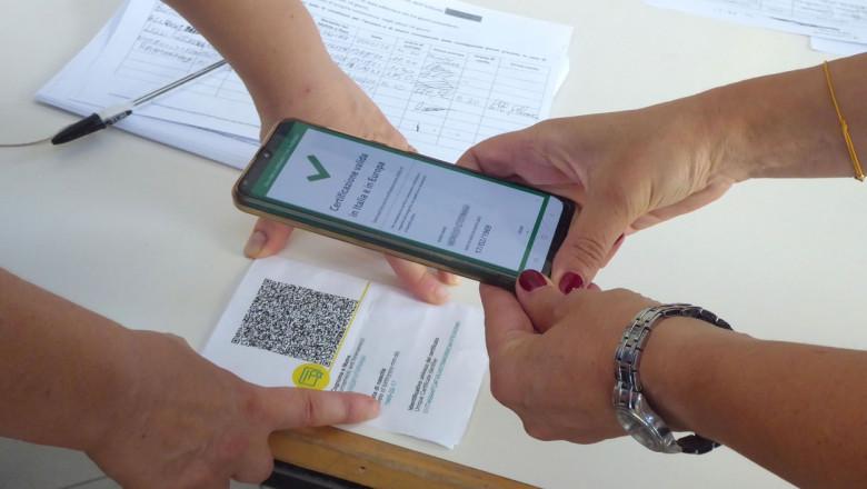 verificare de pe telefon a certificatului verde