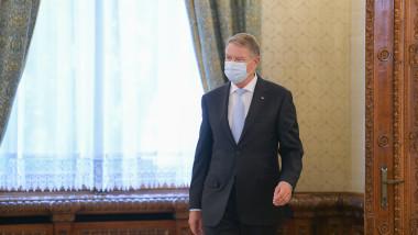 Președintele Klaus Iohannis, la consultări cu partidele politice.