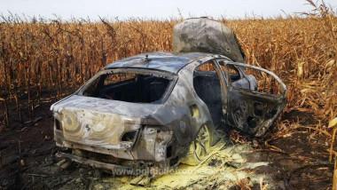 masina arsa in camp