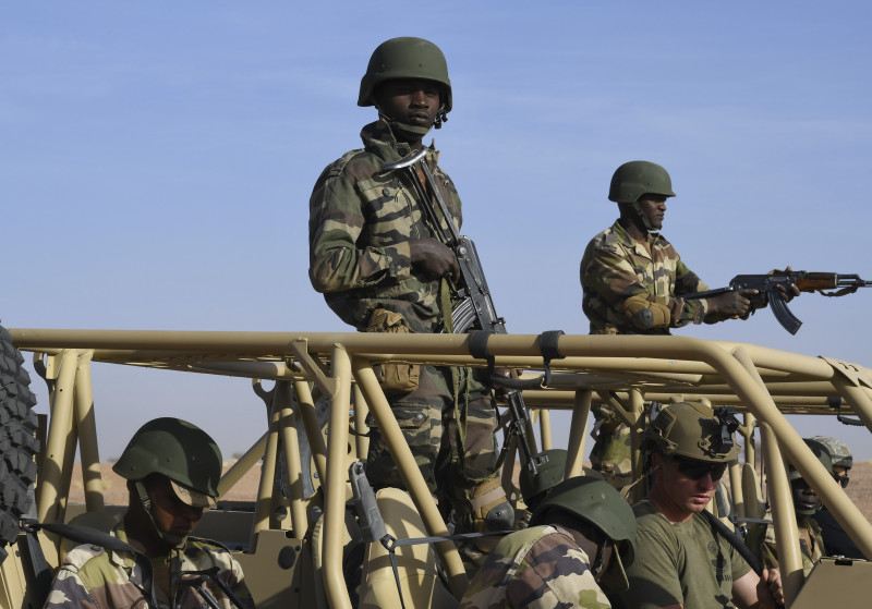 Niger Armed Forces Trained by U.S. Air Force
