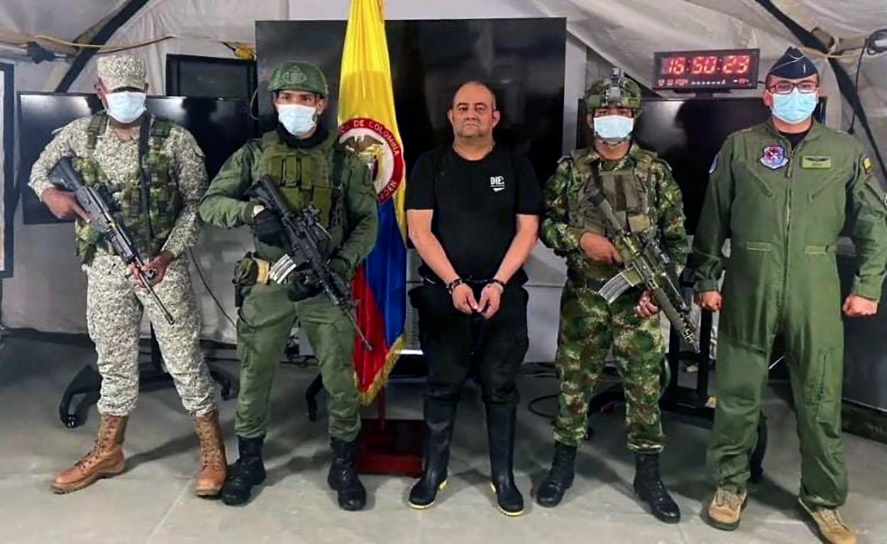 """A fost arestat Otoniel, cel mai căutat traficant de droguri din Columbia. Președinte: """"O lovitură comparabilă cu căderea lui Escobar"""""""