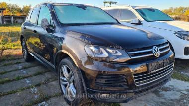 Autoturismul Volkswagen Touareg, în valoare de peste 100.000 de lei, figurează ca fiind furat din Germania.