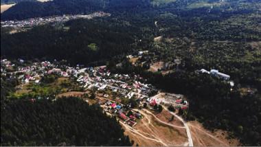 imagine de sus asupra zonei soveja