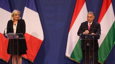 Marine Le Pen s-a întâlnit cu Viktor Orban la Budapesta