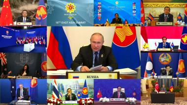 Vladimir Putin a participat la summitul Asociaţiei Naţiunilor din Asia de Sud-Est
