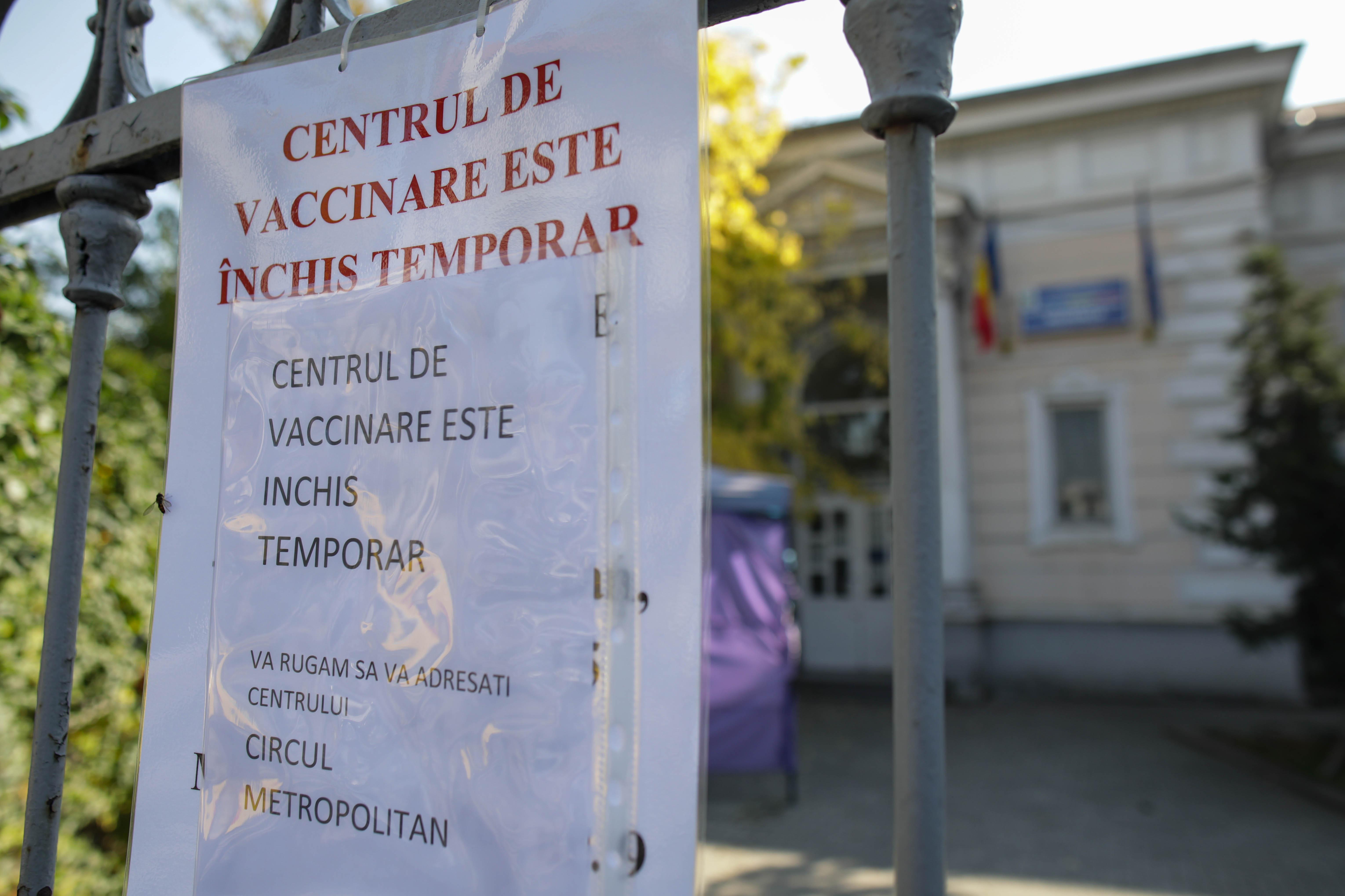 Un centru de vaccinare din sectorul 2 s-a inchis. Acolo e ancheta privind certificate false de imunizare, 168 de persoane sunt audiate
