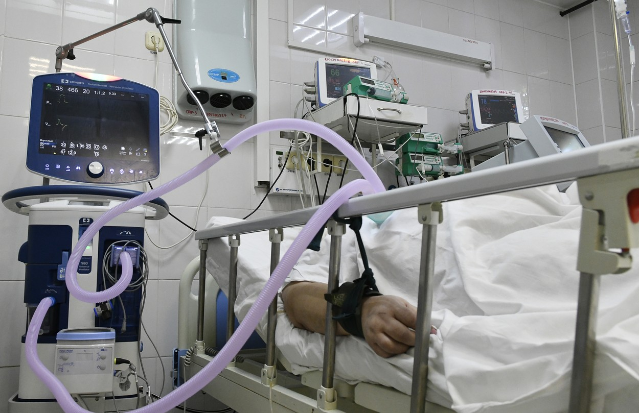 Avarie la reteaua electrica a sectiei COVID din Spitalul Judetean de Urgenta Pitesti