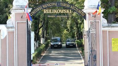 poarta de intrare in cimitirul din Oradea