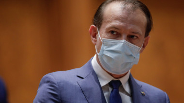 Florin Cîțu în Parlament.