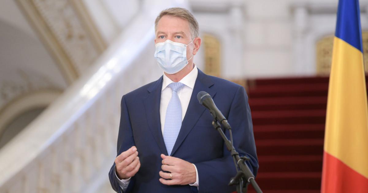 Image Iohannis, apel la vaccinare: Spitalele sunt arhipline, medicii lucrează non-stop, nu mai sunt locuri la ATI. Vorbim de o catastrofă