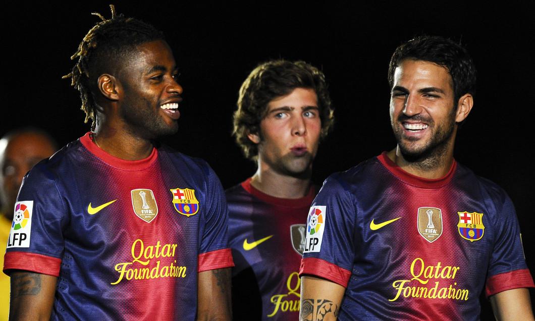 FC Barcelona v Sampdoria Pre Season Friendly