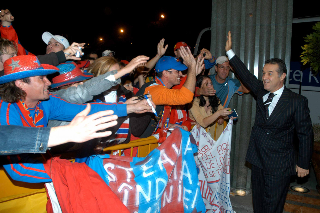 ATMOSFERA REAL MADRID-STEAUA BUCURESTI,LIGA CAMPIONILOR (1.11.2006)