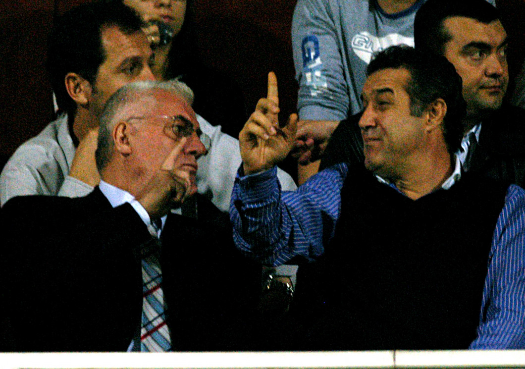 FOTBAL:RAPID-STEAUA BUCURESTI 0-0 LIGA 1 (23.10.2005)