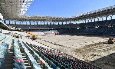 Stadionul Steaua, la sfârșitul lunii aprilie / Foto: Sport Pictures