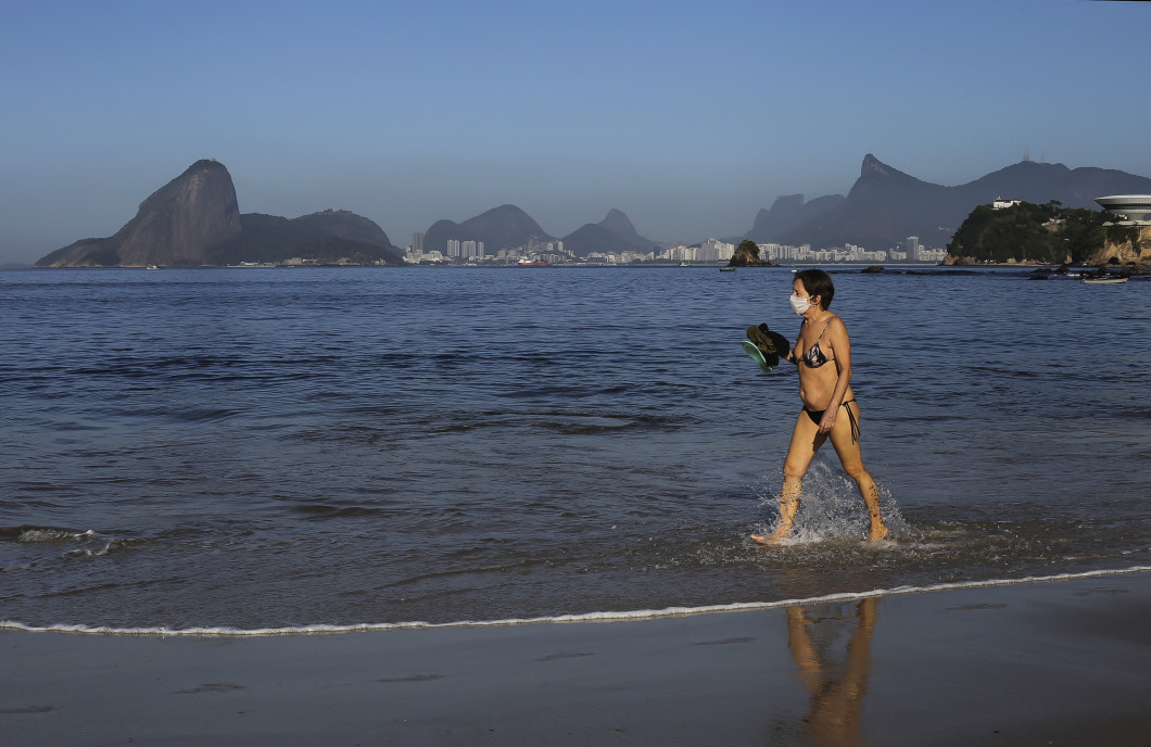 Social Isolation Rules Start to Be Relaxed in Niteroi During the Coronavirus (COVID-19) Pandemic