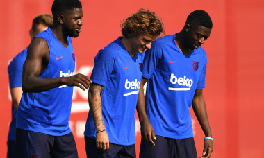 FC Barcelona Pre-Season Training Session