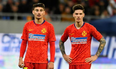 Iulian Cristea și Dennis Man, fotbaliștii de la FCSB / Foto: Sport Pictures