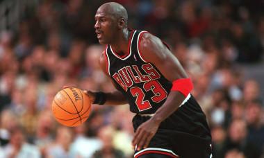 Michael Jordan, câștigător a șase titluri în NBA cu Chicago Bulls / Foto: Getty Images