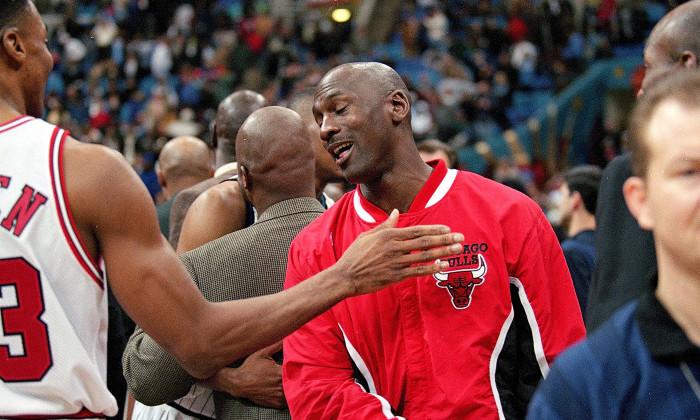 Michael Jordan, de șase ori campion al NBA cu Chicago Bulls / Foto: Getty Images