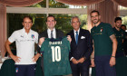 Minister for Sport and Youth Policies Vincenzo Spadafora Meets Italy Soccer Team