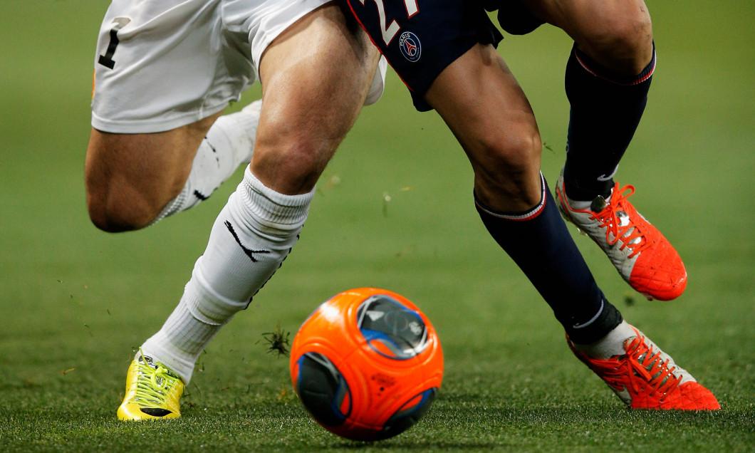 Duel pentru minge în Ligue 1
