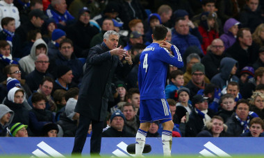 Jose Mourinho și Cesc Fabregas, la Chelsea / Foto: Getty Images