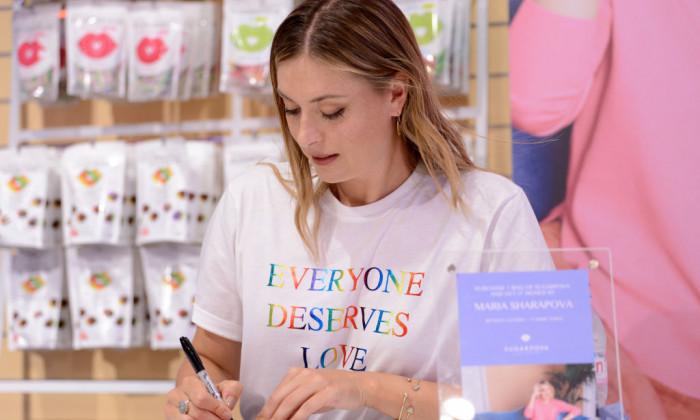 Maria Sharapova Launches Sugarpova At Kingdom Of Sweets