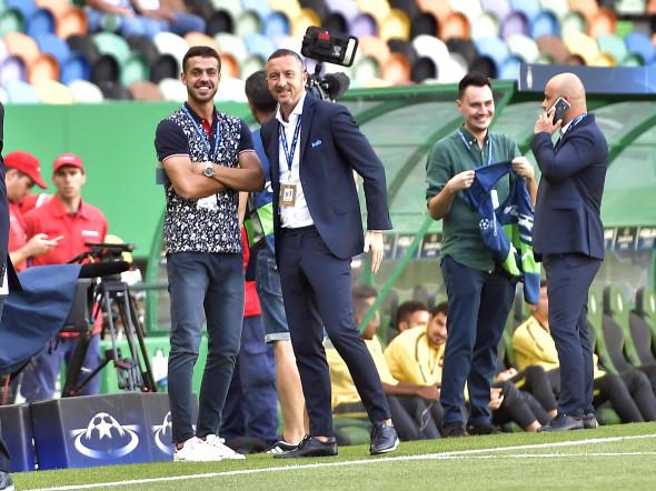FOTBAL:SPORTING LISABONA-FC STEAUA BUCURESTI, PLAY OFF LIGA CAMPIONILOR (15.08.2017)