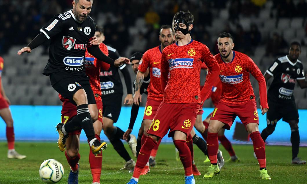 FOTBAL:UNIVERSITATEA CLUJ-FCSB, CUPA ROMANIEI (29.10.2019)