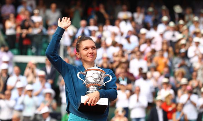 Simona Halep a câștigat Roland Garros în 2018 / Foto: Getty Images