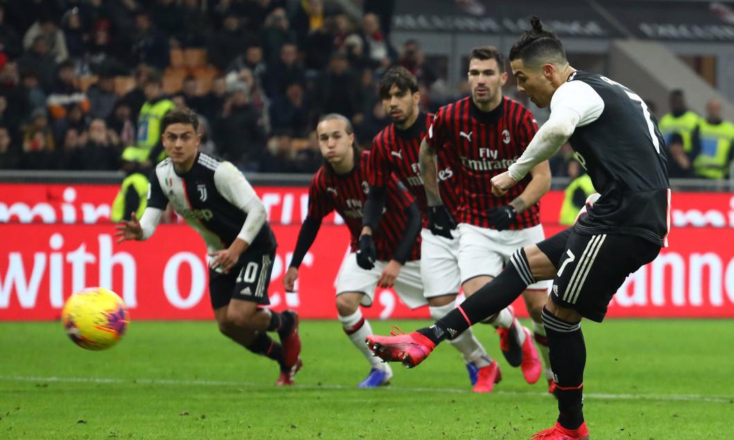 """AC Milan și Juventus au remizat în manșa tur a """"dublei"""" din semifinalele Cupei Italiei / Foto: Getty Images"""