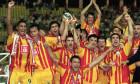 Galatasaray celebrate