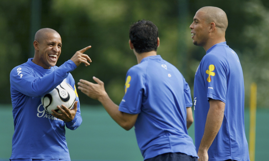 Training Session of the Brazilian National Team for FIFA World Cup 2006
